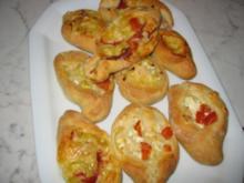 Peinirli-Pizzaschiffchen - Rezept