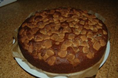 Marzipan-Kirsch-Torte/Kuchen - Rezept