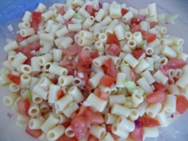 Sommerlicher Nudelsalat - Rezept - Bild Nr. 4
