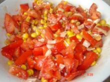Mediterraner Tomatensalat - Rezept