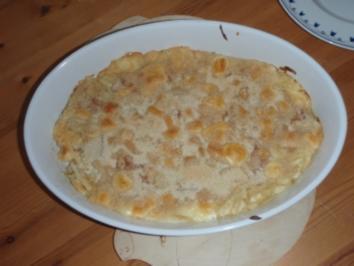 Überbackene Käse Maccheroni - Rezept