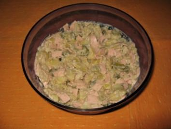 Kartoffelsalat aus Salzkartoffeln - Rezept