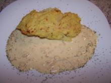Gebackener Lachs mit Kartoffelkruste - Rezept