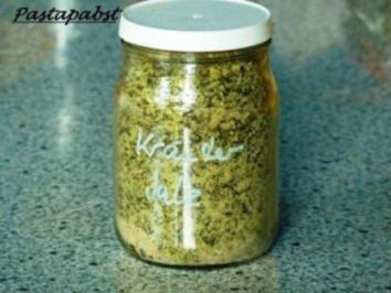 Kräuter Meersalz - Rezept