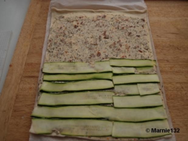 Pizzaschnecken mediterran - Rezept - Bild Nr. 4