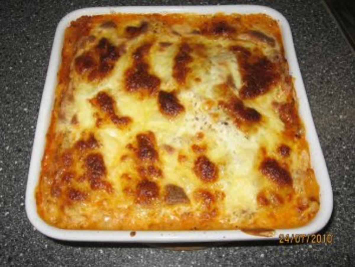 Lasagne al forno Klassische Lasagne