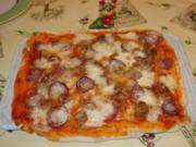 Green's special Pizza - Rezept