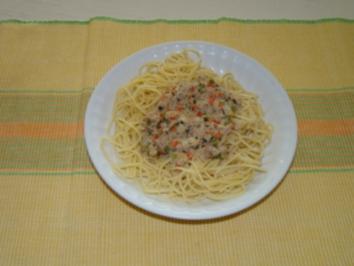 Scharfe Thunfisch - Spaghetti - Rezept