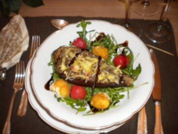 Überbackene Auberginen - Rezept