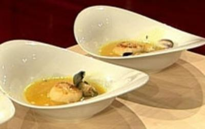 Orangen-Fenchel-Suppe mit Muscheln - Rezept - Bild Nr. 16