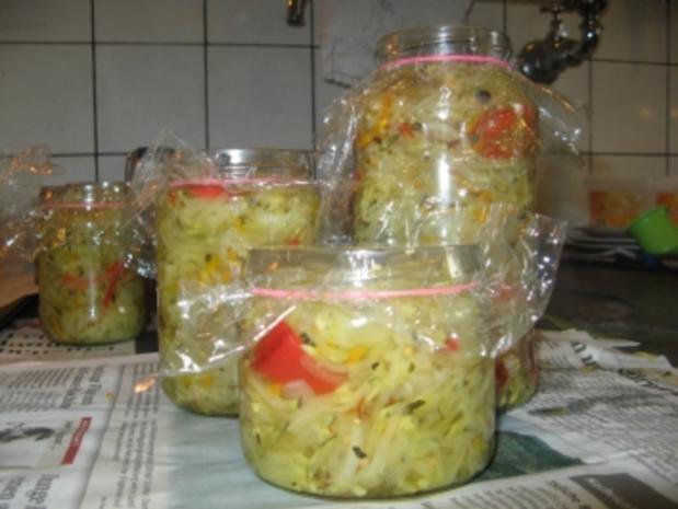 Eingelegter Zucchini - Rezept - Bild Nr. 2