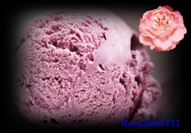 Himbeer-Heidelbeer-Eis - Rezept