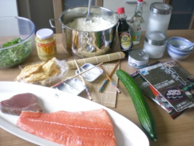 Sushi - Makis step by step - Rezept - Bild Nr. 2