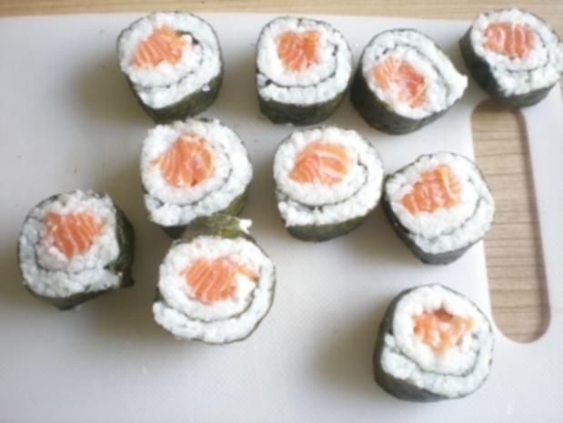 Sushi - Makis step by step - Rezept - Bild Nr. 8