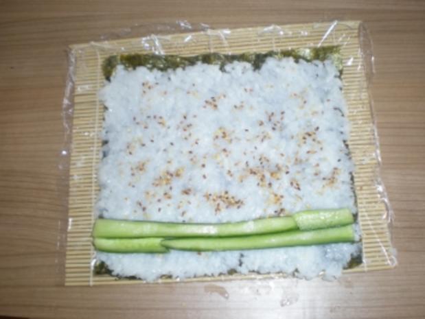 Sushi - Makis step by step - Rezept - Bild Nr. 11