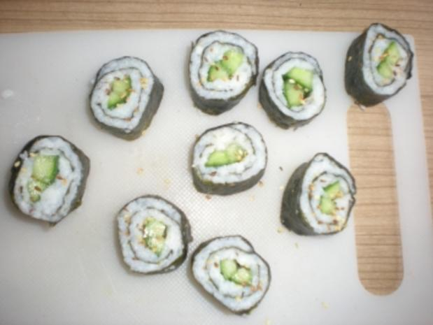 Sushi - Makis step by step - Rezept - Bild Nr. 12