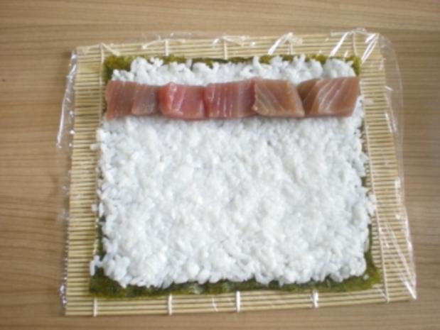 Sushi - Makis step by step - Rezept - Bild Nr. 9