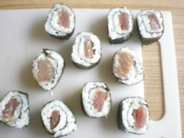 Sushi - Makis step by step - Rezept - Bild Nr. 10
