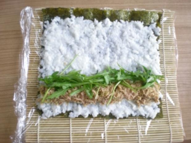 Sushi - Makis step by step - Rezept - Bild Nr. 13