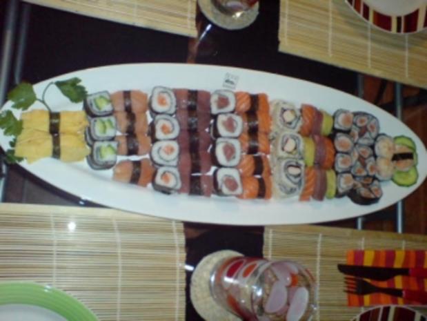 Sushi - Makis step by step - Rezept - Bild Nr. 15