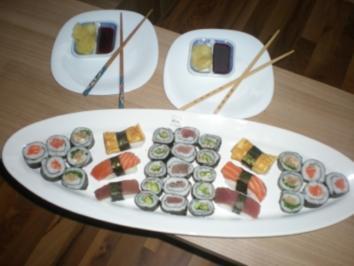 Rezept: Sushi - Makis step by step