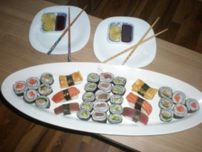 Sushi - Makis step by step - Rezept