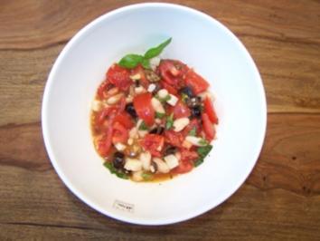 Tomatensalat, meiner - Rezept