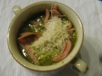 Rukula (Rauke) Cremesüppchen - Rezept