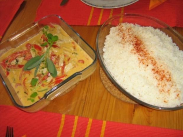 Paprika-Geschnetzeltes mit Kokossauce - Rezept - Bild Nr. 13