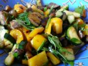 Antipasti : Biggis gegrilltes,eingelegtes Gemüse - Rezept