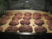 Double choclate Cookies - Rezept