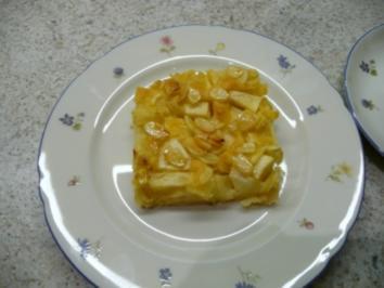 Rezept: Apfelblechkuchen