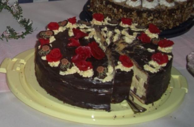 Kuchen- Inges Nougattorte - Rezept