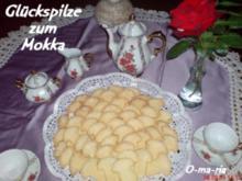 Kleingebäck  Glückspilze zum Mokka - Rezept