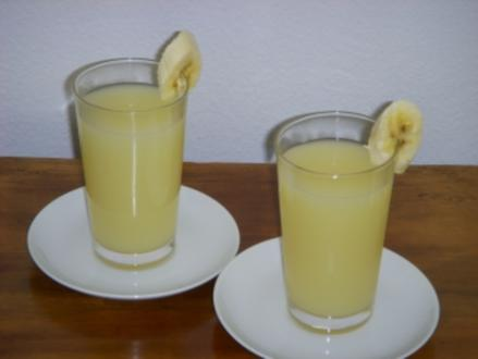 Ananas-Bananen-Smoothie - Rezept
