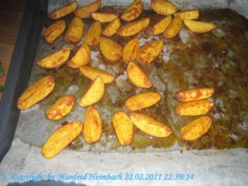 Potatoe Wedges mit Paprika - Rezept