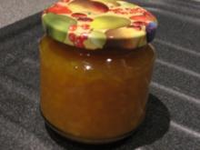 Nektarinen-Ingwer-Marmelade - Rezept