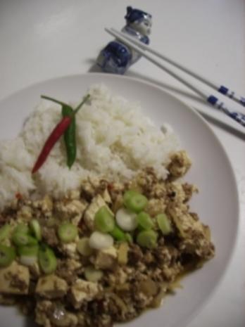 Mápó dòufu   麻婆豆腐 - Rezept - Bild Nr. 2
