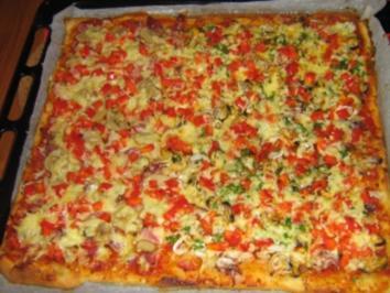 Pizza Land und Meer - Rezept