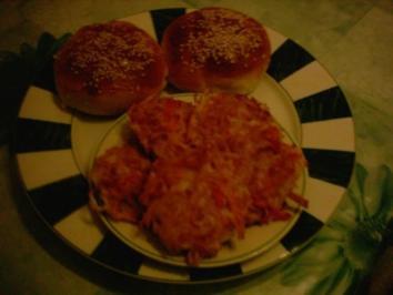Surimi - Hamburger - Rezept