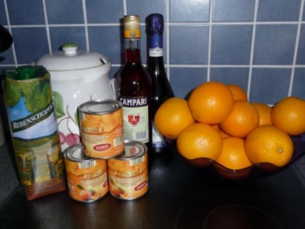 Campari-Bowle - Rezept - Bild Nr. 2