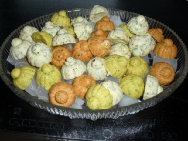 Bunte Knofi-Party-Butter - Rezept - Bild Nr. 8