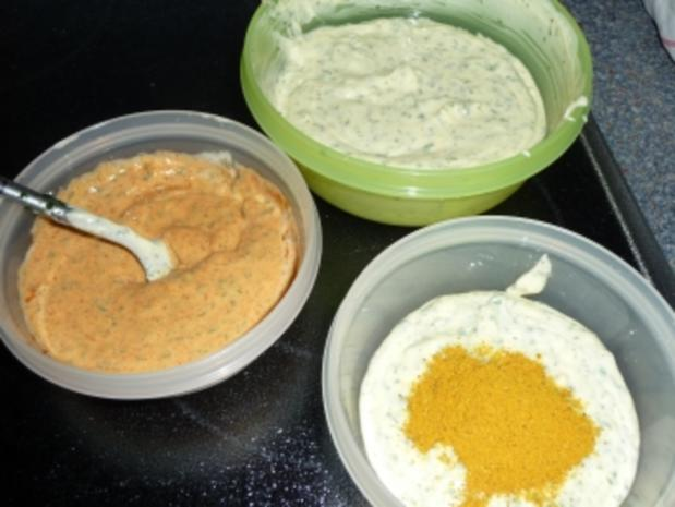 Bunte Knofi-Party-Butter - Rezept - Bild Nr. 6