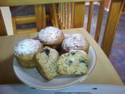 Bananen-Heidelbeer-Muffins - Rezept