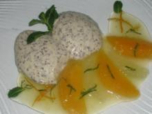 Quark- Mousse mit Zitrusfrüchte- Ragout - Rezept
