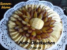 Kuchen  Hefe-Obstkuchen - Rezept