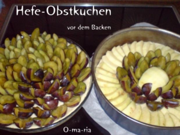 Kuchen  Hefe-Obstkuchen - Rezept - Bild Nr. 3