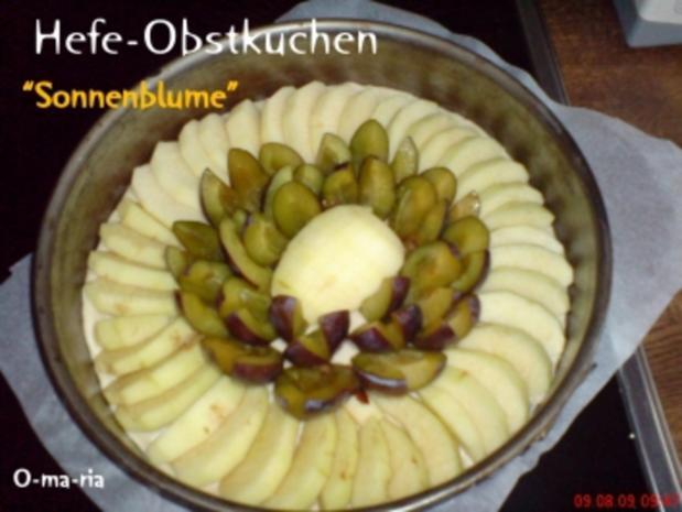 Kuchen  Hefe-Obstkuchen - Rezept - Bild Nr. 4