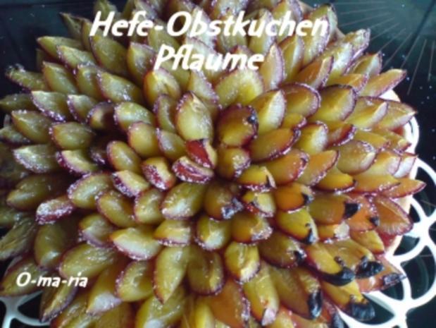 Kuchen  Hefe-Obstkuchen - Rezept - Bild Nr. 7