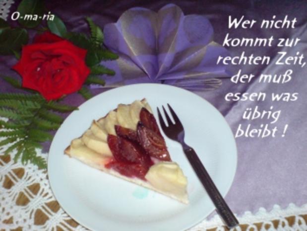Kuchen  Hefe-Obstkuchen - Rezept - Bild Nr. 10
